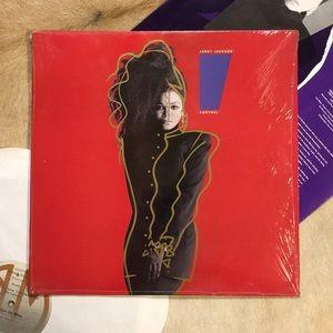 "Janet Jackson - ""Control"" Vinyl LP"
